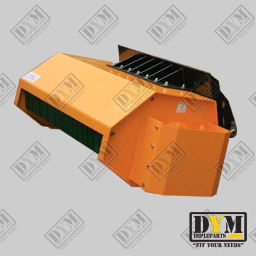 desbrozadora hidraulica implementos minicargadoras dym impleparts