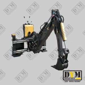 brazo retro completo implementos minicargadoras dym impleparts