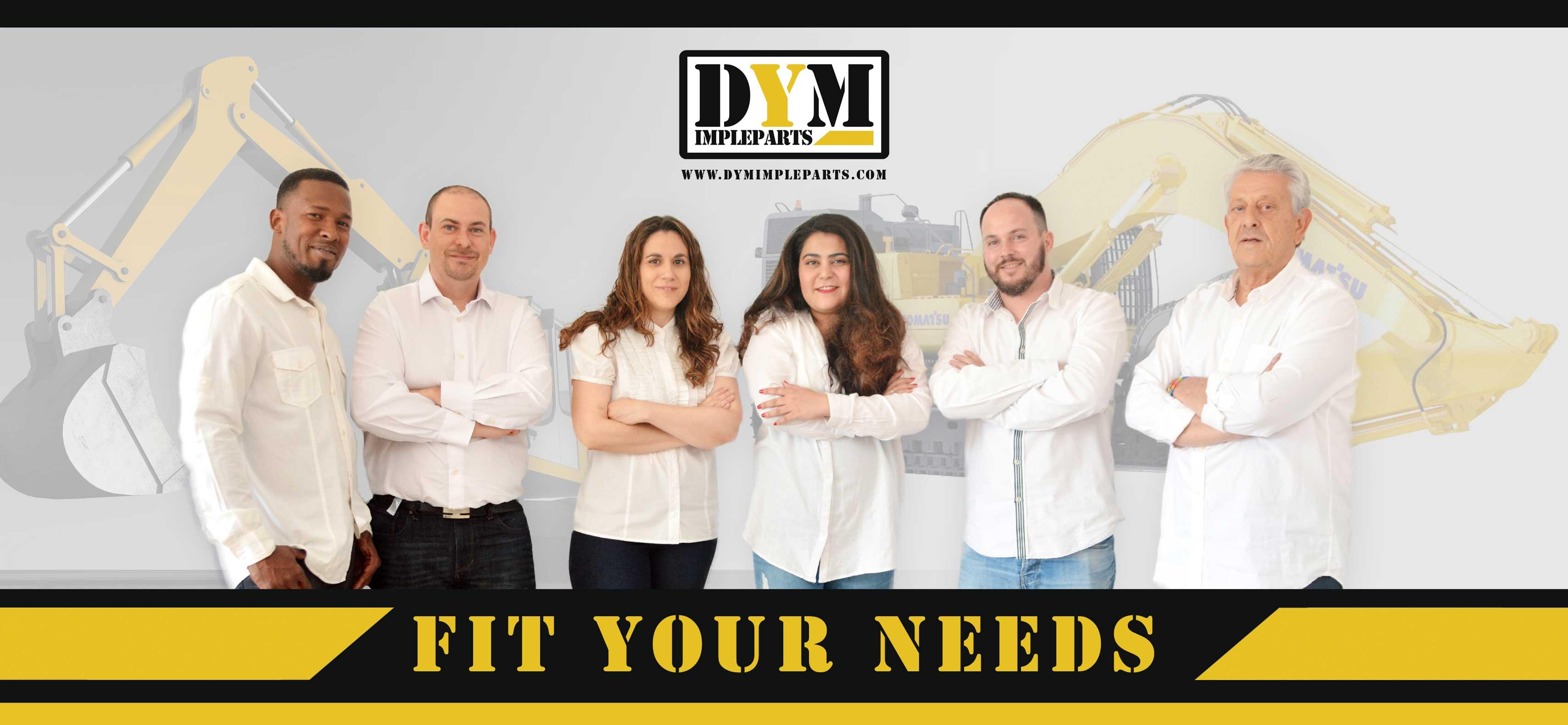 DYM Impleparts - Maquinaria para construccion y obra publica
