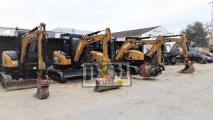 SANY mini excavators equipped with DYM attachments - DYM